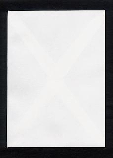 角封筒 白